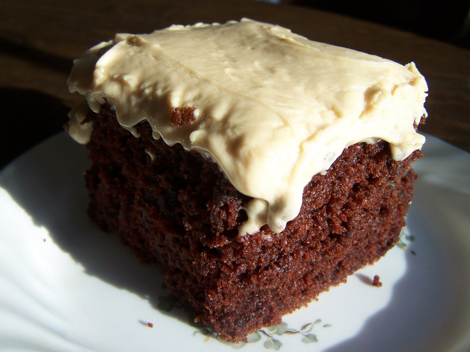Down-Home Chocolate Mayonnaise Cake