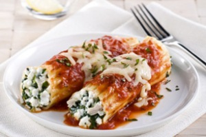 Chicken_Cheese_n_Spinach_Manicotti