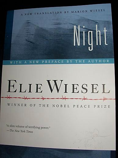 Essays On the Book Night by Elie Wiesel