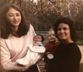 Sandra, Leslie, Len and Sarah