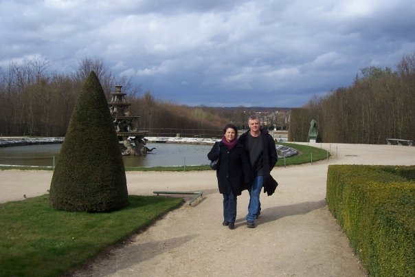 Ray and Len in Paris