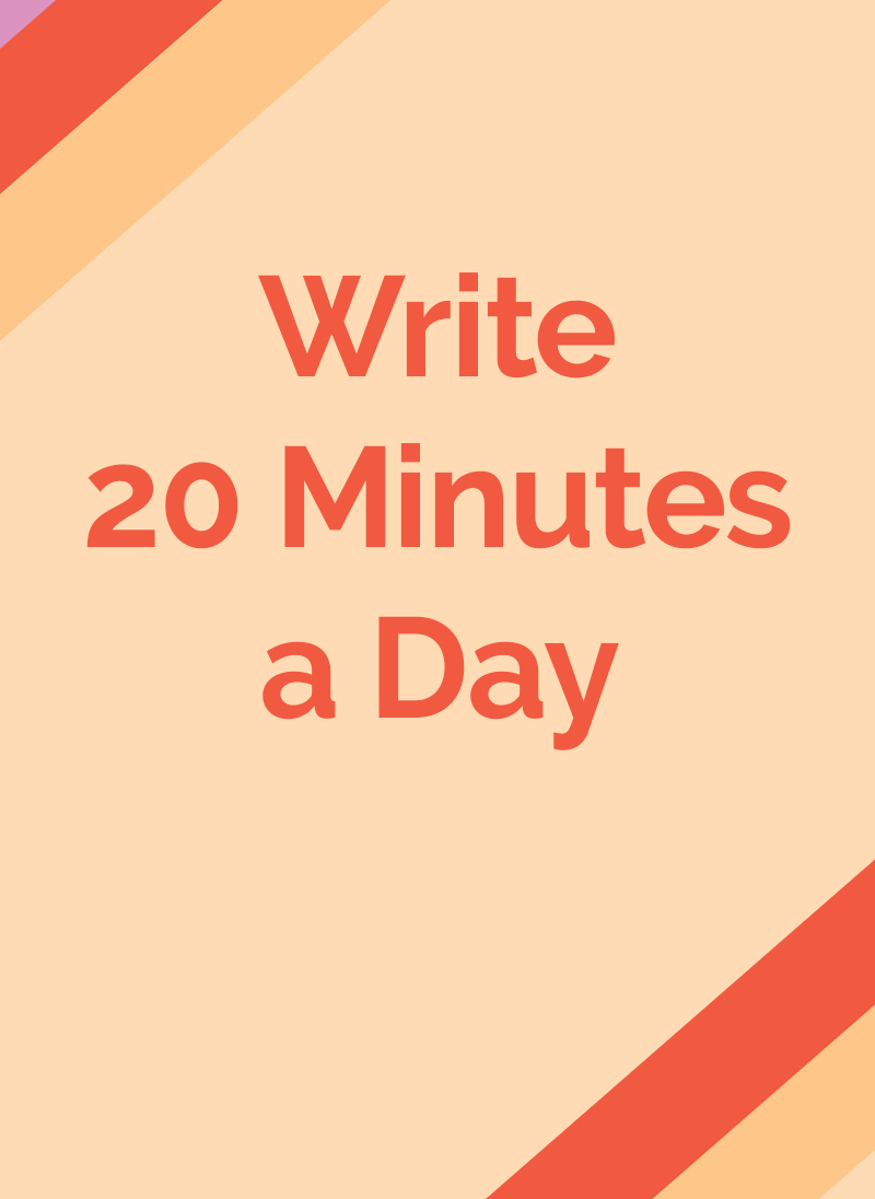 Write-20-Minutes-a-Day