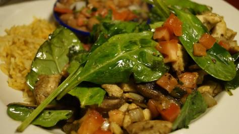 chicken ith spinach