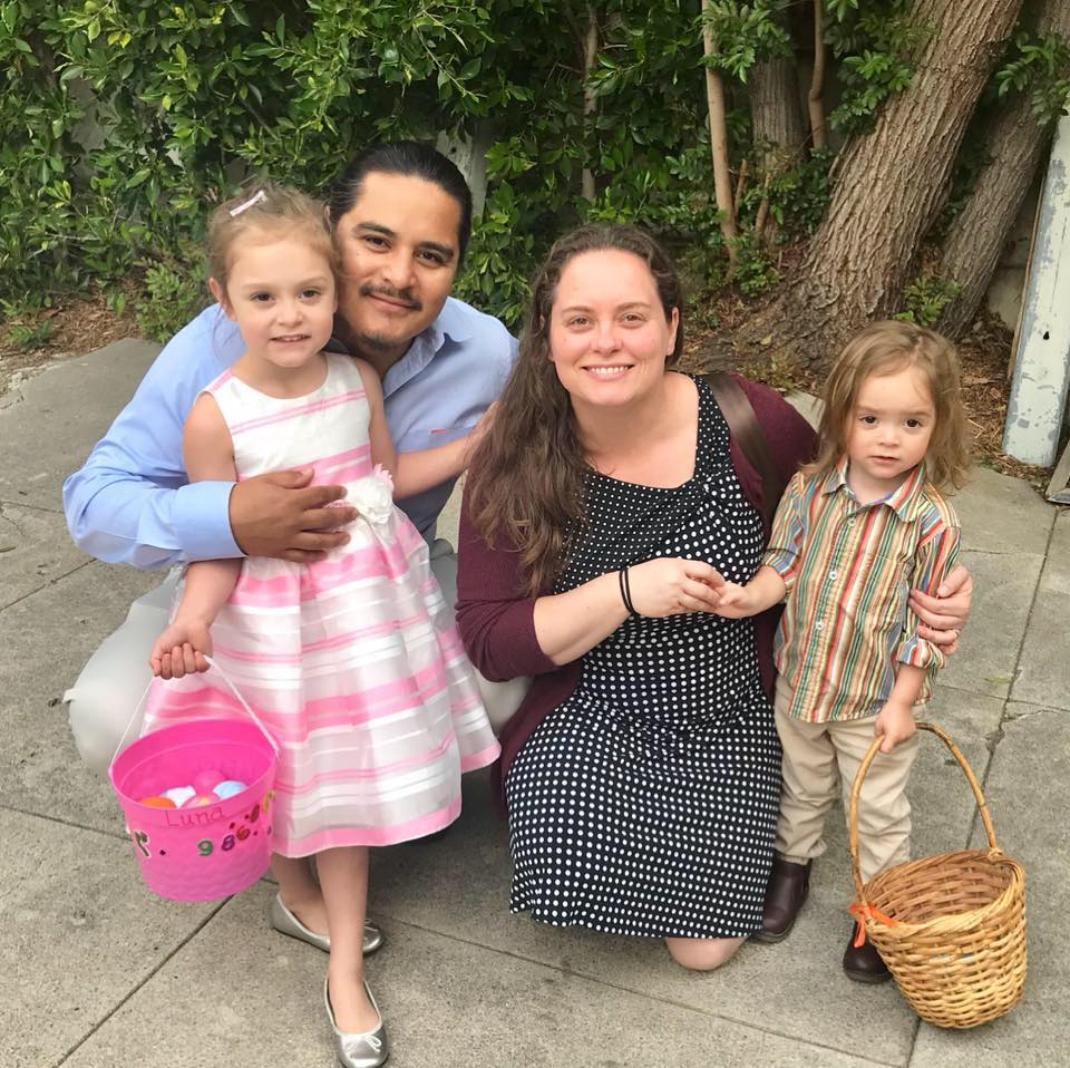 Sarah and Family - Easter, 2018