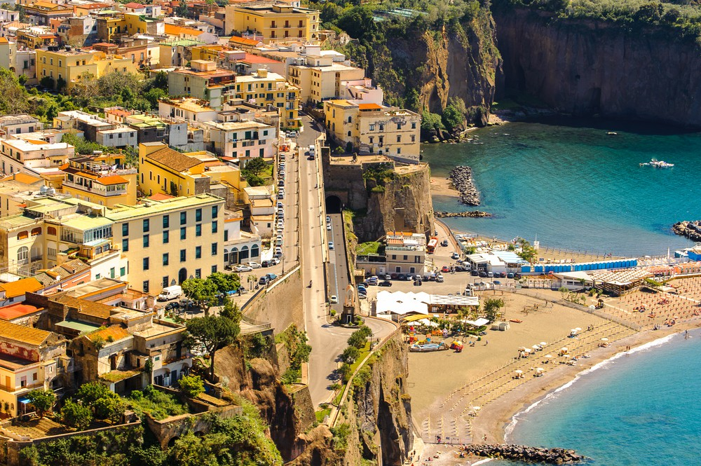 Aerial-view-of-Sorrento-Italy