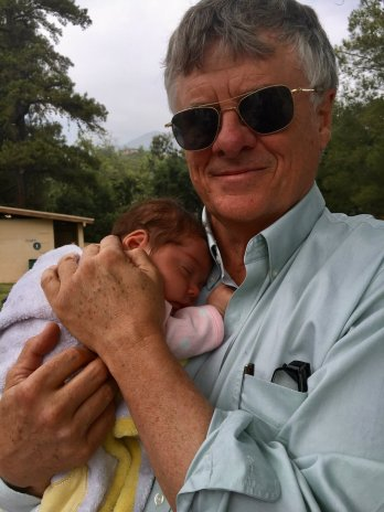 Ray with Baby Lyla