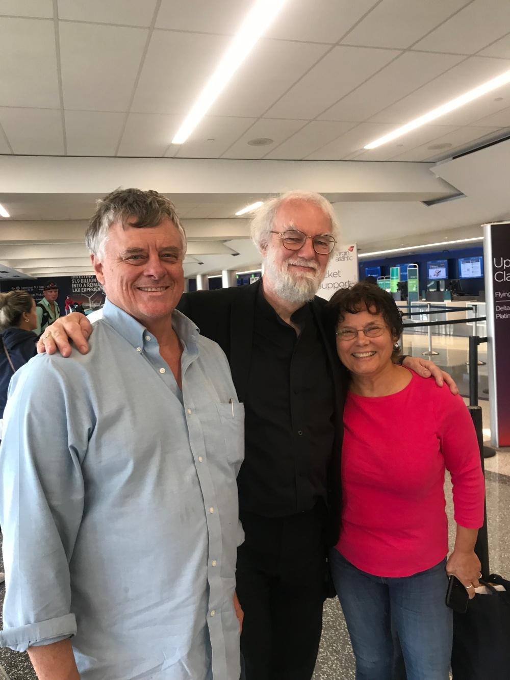 Ray, Rowan and Len